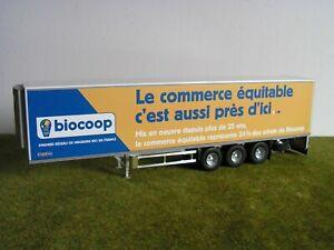 Camion ELIGOR - SEMI-REMORQUE FRIGORIFIQUE - BIOCOP - 1/43 ème