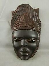 Masque africain en bois ébène?