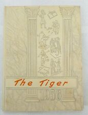 "LAKE CITY MINNESOTA 1956 SCHOOL YEAR BOOK "" THE TIGER """