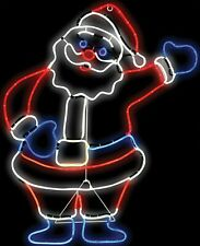 LIGHT GLO SANTA LED YARD DECOR