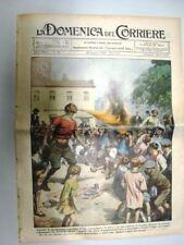 La Domenica del Corriere 22 Giugno 1930 Londra New York Monsieur de la Palisse