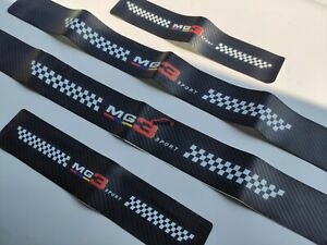 For MG MG3 Car Accessories Door Sill Trim Protector Scuff Plate Auto Parts 11-21