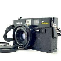【NEAR MINT+++】 Canon A35 Datelux Rangefinder 35mm Film Camera W/40mm f/2.8 JAPAN