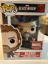Black Widow Alexei Marvel Collector Corp Funko