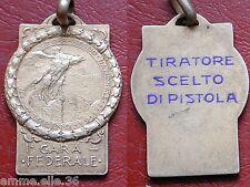 I.a GARA FEDERALE TORINO 1911 TIRO A SEGNO NAZIONALE  TIRATORE SCELTO DI PISTOLA