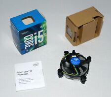 INTEL i5-LÜFTER MIT BOX OVP i5-7500 LGA1151