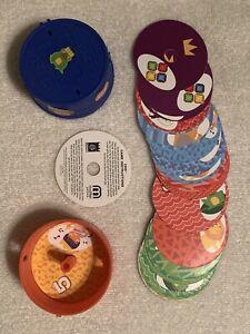 UNO Game (Complete)  In Lidded barrel    2012 Mattel  Made for Burger King  GOOD