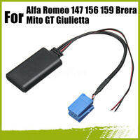 bluetooth Adapter AUX Music Module Cable For Alfa Romeo 147 156 159 Brera