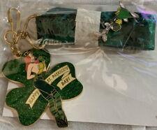 Disney 2007 St. Patrick's Day Jessica Rabbit Lanyard Medallions Set #52800 New!