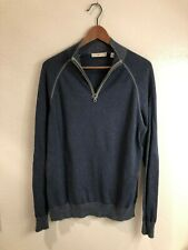 Agave Denim Lundy Zip Mock Neck Sweater (size: M) - great condition!