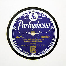 "GENE KRUPA & HIS ORCHESTRA ""Ta-Ra-Ra-Boom-De-Ay"" (E+) PARLOPHONE R-2905 [78 RPM]"