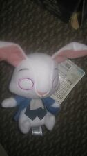 Mopeez Plush White Rabbit from Alice Through the Looking Glass + Blind Bag figs