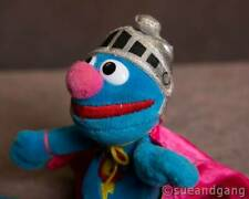 """Super Grover to the Rescue w/ Cape Sesame Street Plush Doll/Toy/Action Figure 7"""""""