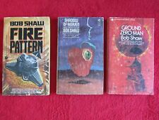 3 paperback science fiction novels by Bob Shaw - 1969, 1971 & 1984
