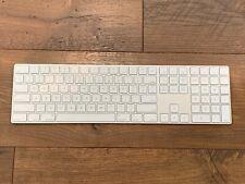 Apple Magic Wireless Keyboard with Numeric Keypad (Silver) A1843
