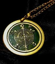 TALISMAN OF ELUS COEN PROTECTION SOLID BRASS Occult Amulet Magick Rosicrucian