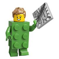 LEGO Minifigures - Series 20 - Brick costume guy - 71027 - BRAND NEW