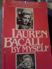 Lauren Bacall by Myself by Lauren Bacall (1979, Paperback)