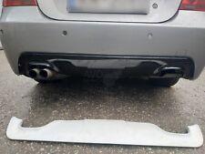 BMW E60 M TECH SPORT Diffuser rear Spoiler Diffusor Twin Double Outlet