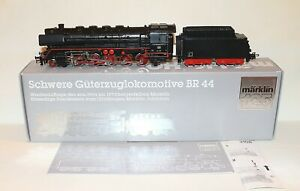 "Steam locomotive BR 44 of the DB - special model ""125 years Märklin MIB + Papers"