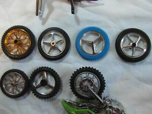 Toy motorcycle wheels