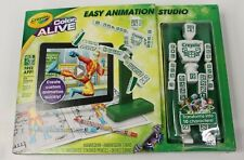 Crayola Color Alive Easy Animation Studio Real 3-D Graphics Kit