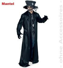 Fasching Halloween Mantel Black Coat Größe XXL - Dracula Vampir Gothic NEU