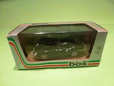 BOX MODEL 8439 JAGUAR E-TYPE COUPE - BLACK 1:43 - NMIB