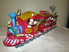 Disney Musical Holiday Express 2000, Christmas Train. wind up musical & animated