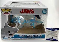 Richard Dreyfuss Autographed JAWS Great White Shark Funko POP Signed BAS COA