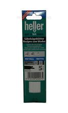 Heller S522AF Reciprocating Metal Sabre Saw Blades  5 Pack Recipro Cutting Tools