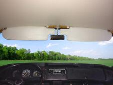 Sol viseras Vw T2 1968-1979 VW tipo 2 Bay ventana un par y clips, de color blanco C9579