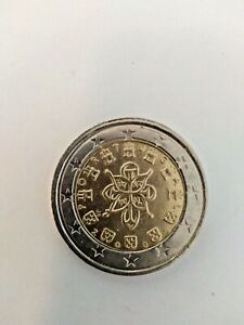 PIÈCE 2 EUROS RARE PORTUGAISE DE 2002