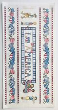 4th JULY PARADE AMERICA USA FLAG BO-BUNNY PRESS 6 X 12 IN. SHEET STICKERS