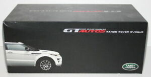 GT Autos / Welly 1/18 Scale Metal Model - Range Rover Evoque - Pearl White