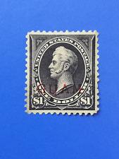 Guam 1899... $1,  Scott 12* No gum... US American Administration