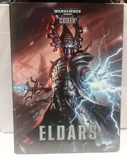 livre Warhammer 40k Eldars cartonnée Codex games workshop