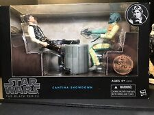 Star Wars The Black Series: Cantina Showdown Han Solo/Greedo ToysrUS Exclusive