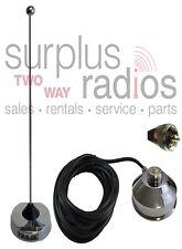 NEW VHF MAGNET MOUNT MAG ANTENNA KIT FOR KENWOOD TK7160 TK7180 T760 TK7360