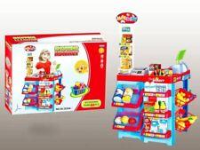 Kids Supermarket Shop Play Role Set Children Superstore Till Scanner Till