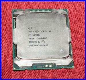 Intel Core i7-6800K 6 Cores 3.40GHz 15MB LGA 2011-3 CPU Desktop Processor SR2PD