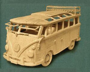 Matchstick Model Kit CAMPER VAN Brand New