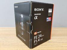 Sony FE 24mm f/1.4 GM Camera Lens - Black (SEL24F14GM)