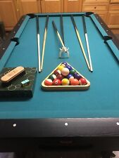 BCE Black cat Pool Table 7ft, With Cues And Balls