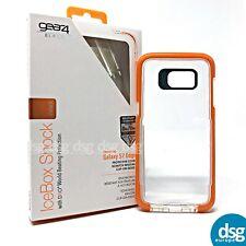 Gear4 BLACK IceBox Shock for Samsung Galaxy S7 Edge D30 Protection - Orange