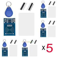5x MFRC-522 RC522 RFID Radiofrequency IC Card Inducing Sensor Reader for Arduino