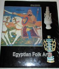 EGYPTIAN FOLK ARTS STATE INFORMATION SERVICE CAIRO 1985 LARGE HARD COVER DJ.