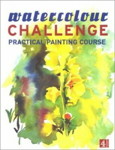 Watercolour Challenge:Practical Painting Course Hardback Book The Cheap Fast