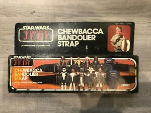 1983 Kenner Star Wars Return Of The Jedi Chewbacca Bandolier Strap Sealed Box