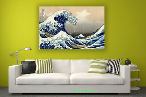 The Great Wave Off Kanagawa CANVAS PRINT, ROLLED,STRETCHED or FLOATING FRAME